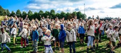 Stam, Scouts & Gidsen Denderleeuw – Eigen speelterrein wordt groen buurtpark