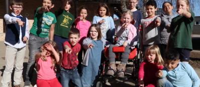 Looppiste en rolwagenpad
